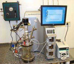 Biorreator utilizado no CTC